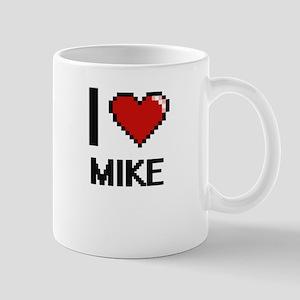 I Love Mike Mugs