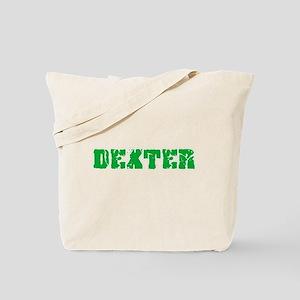 Dexter Name Weathered Green Design Tote Bag