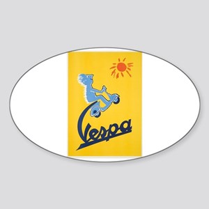 Vintage Vespa Sticker