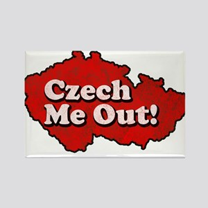 Czech Me Out! Rectangle Magnet