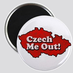 Czech Me Out! Magnet