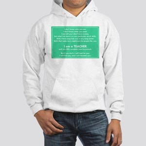 I will find you Do Your Homework Hooded Sweatshirt