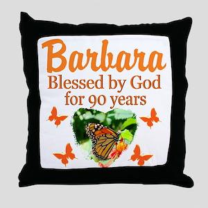GLORIOUS 90TH Throw Pillow