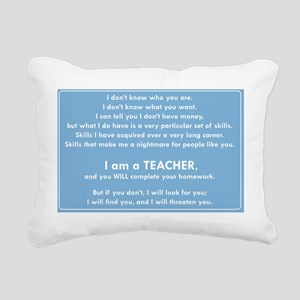 I will find you Do Your Rectangular Canvas Pillow