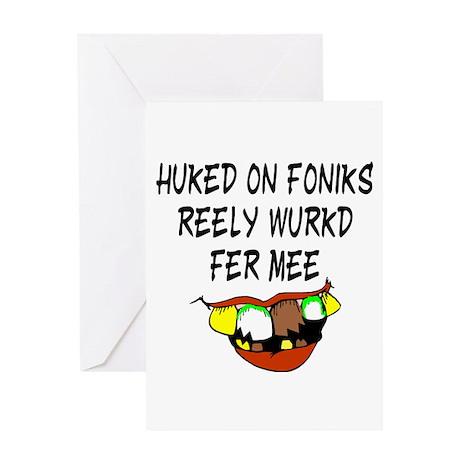 Redneck Phonics Greeting Card