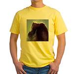 Horse Head Nebula Yellow T-Shirt