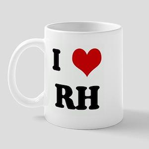 I Love RH Mug