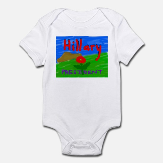Hillary President Infant Bodysuit