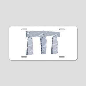 Ancient Wonder Aluminum License Plate