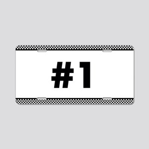 Custom Race Number Aluminum License Plate