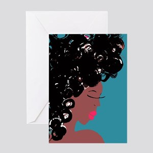 Curlz II Greeting Cards