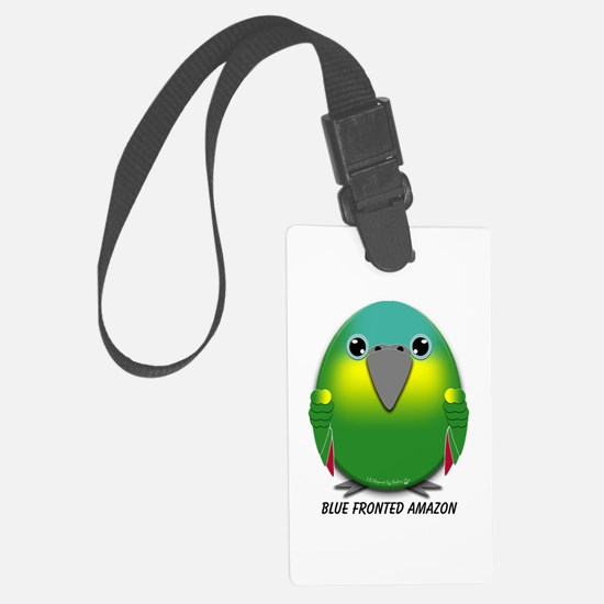 Blue Fronted Amazon Luggage Tag
