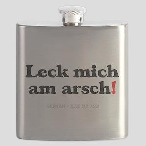 GERMAN - KISS MY ASS! Flask