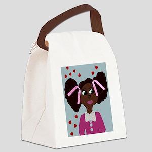Make A Wish Sandy Canvas Lunch Bag
