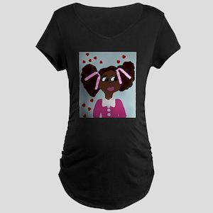 Make A Wish Sandy Maternity T-Shirt