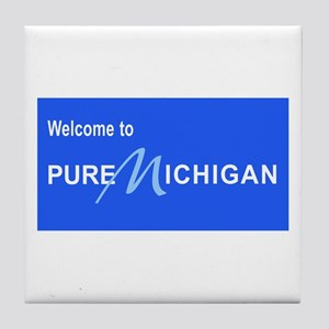 Welcome to Pure Michigan Tile Coaster