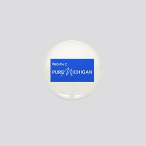 Welcome to Pure Michigan Mini Button