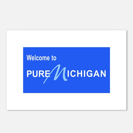 Welcome to Pure Michigan Postcards (Package of 8)