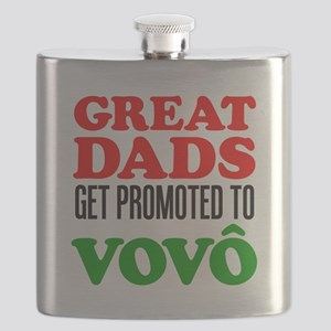 Dads Promoted To Vovo (Grandpa) Flask