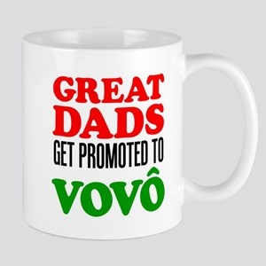 Dads Promoted To Vovo (Grandpa) 11 oz Ceramic Mug
