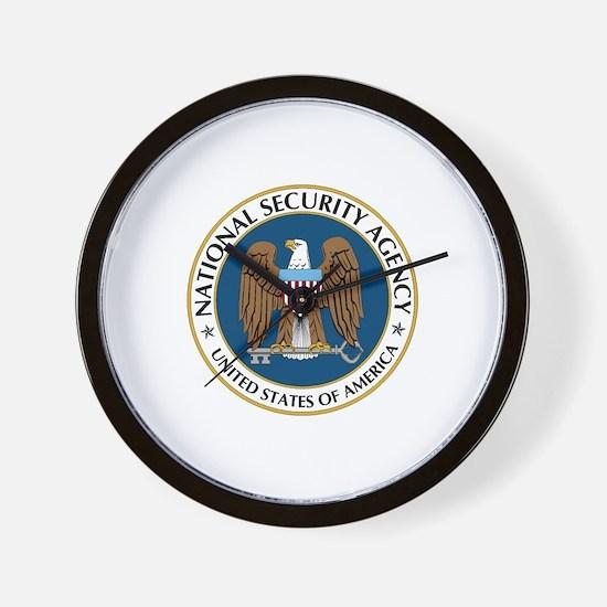 NSA - NATIONAL SECURITY AGENCY Wall Clock