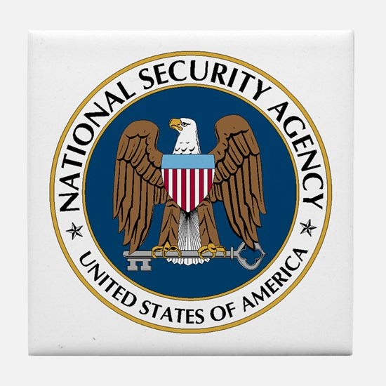 NSA - NATIONAL SECURITY AGENCY Tile Coaster