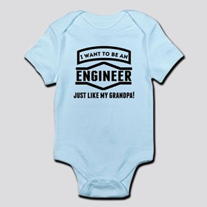Engineer Just Like My Grandpa Body Suit