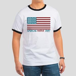 American Horror Story Flag Ringer T