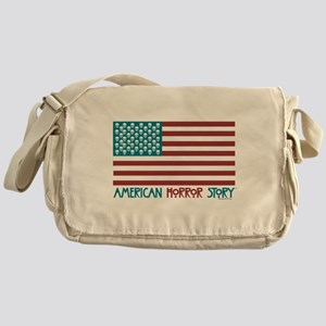 American Horror Story Flag Messenger Bag