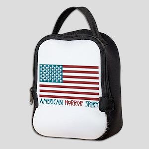 American Horror Story Flag Neoprene Lunch Bag