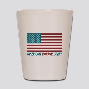American Horror Story Flag Shot Glass