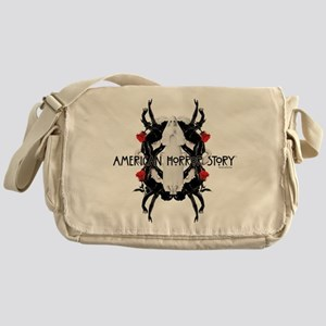 American Horror Story White Nun Rubb Messenger Bag