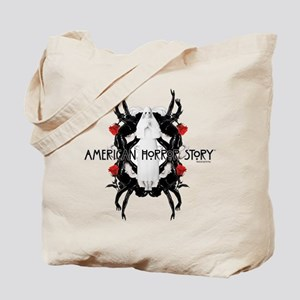 American Horror Story White Nun Rubber Ma Tote Bag