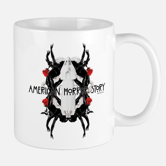 American Horror Story White Nun Rubber Mug