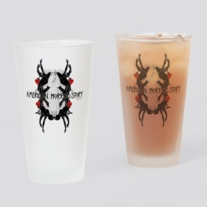 American Horror Story White Nun Rub Drinking Glass