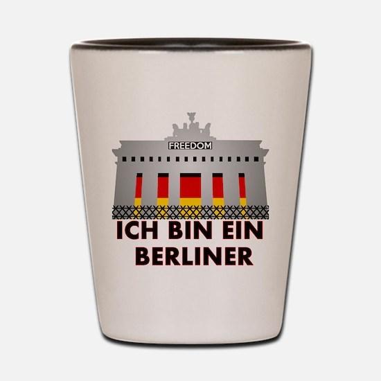 Funny Berlin Shot Glass