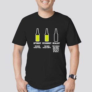 Beer Realist Hose to M Men's Fitted T-Shirt (dark)