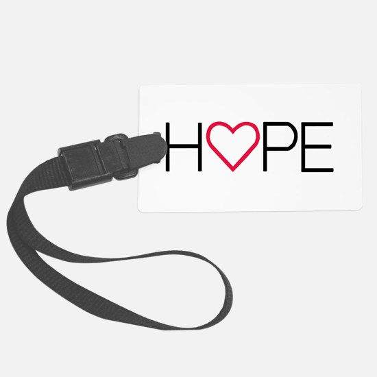 Cute Hope love faith Luggage Tag