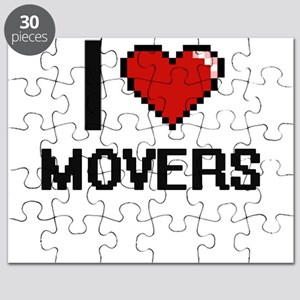 I Love Movers Puzzle