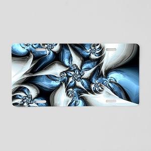 Arctic Chill Aluminum License Plate