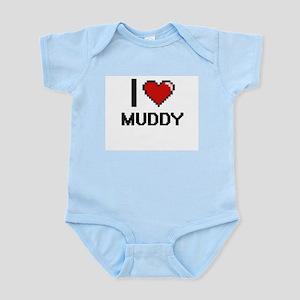 I Love Muddy Body Suit