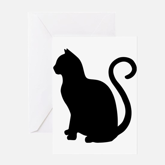 Funny Cat design Greeting Card