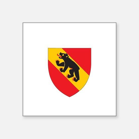 """Cute German crest Square Sticker 3"""" x 3"""""""