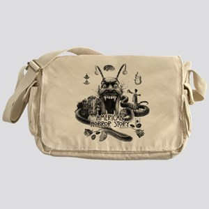 American Horror Story Scenery Messenger Bag