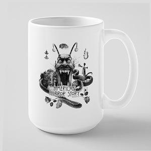 American Horror Story Scenery Large Mug