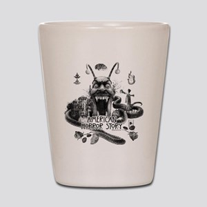 American Horror Story Scenery Shot Glass