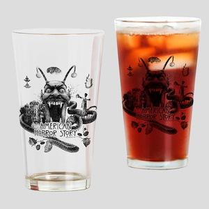 American Horror Story Scenery Drinking Glass