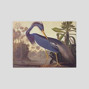 Louisiana Heron 5'x7'Area Rug