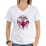 Sala Family Crest Women's V-Neck T-Shirt