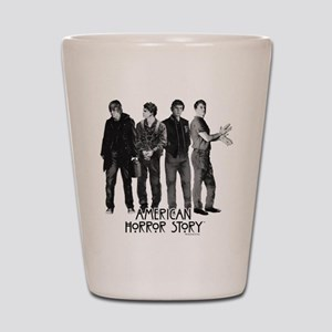 American Horror Story Evan Peters Shot Glass